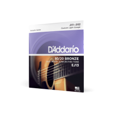 D'Addario 80/20 Bronze Custom Light 11-52
