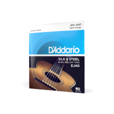 D'Addario Silk & Steel Regular Light 11-47