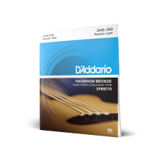 D'addario Phosphor Bronze Light/Long Scale 45-100