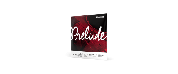 D'Addario Prelude Violin 4/4 Scale Medium Tension String