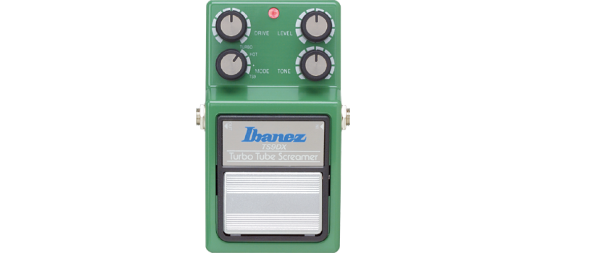 Pédale d'overdrive Ibanez TS9DX Turbo Tube Screamer