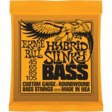 Ernie Ball - Basse - HYBRID SLINKY BASS NICKEL WOUND - .045 - .105
